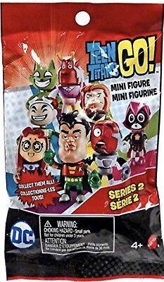 Teen Titans Go! Series 2 Mini Figure, CYBORG Blind Bag New SEALED
