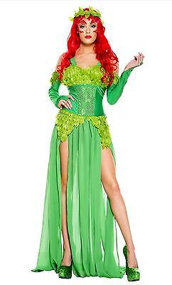 Music Legs Poisonours villain  Halloween Costume 70768 Plus Size Queen Available