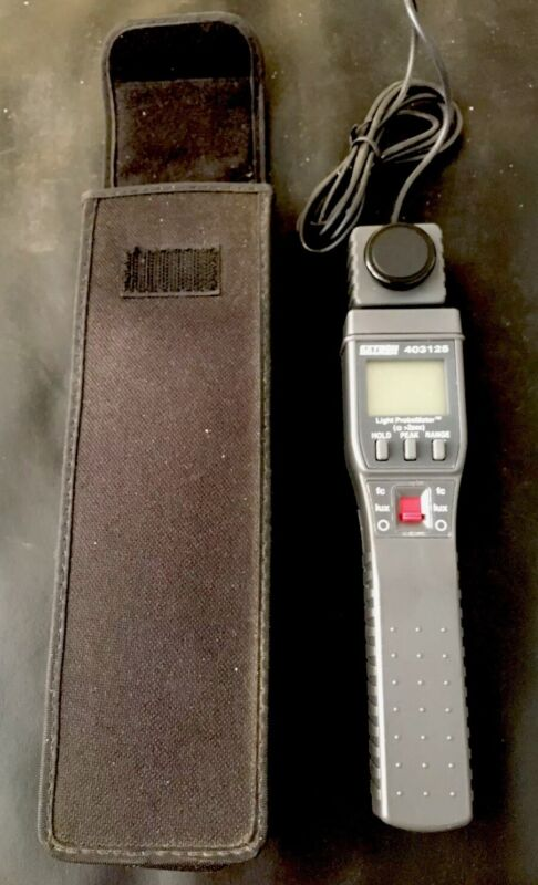 Light Meter Extech 403125 Preowned In Great Condition Measure