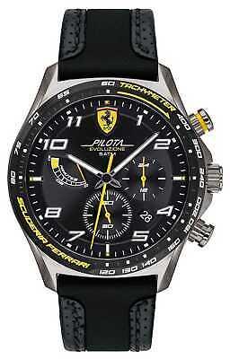 Scuderia Ferrari | Men's Pilota | Black 0830718 Watch - 7% OFF!