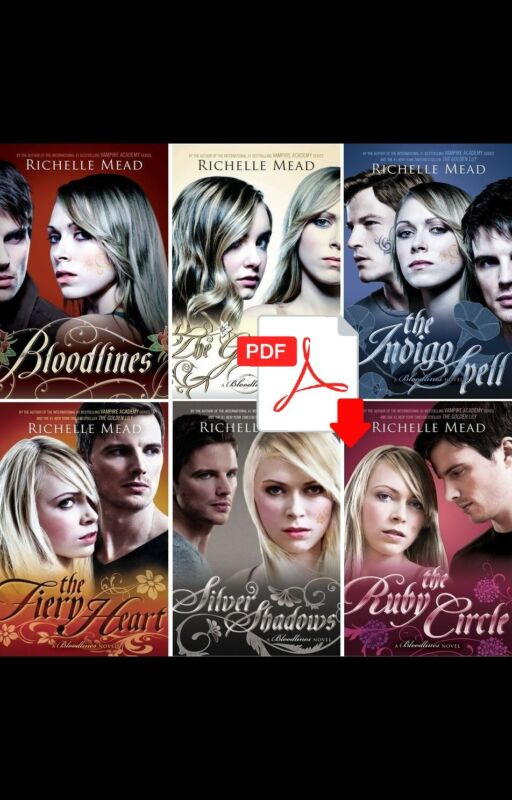 Bloodlines Series Lot The Ruby Circle (1-6) Richelle Mead [ E-ß00K , PÐF ]
