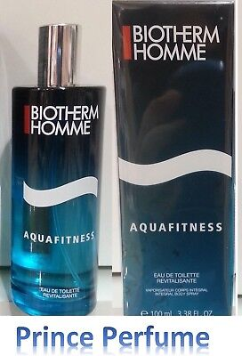 BIOTHERM HOMME AQUAFITNESS EDT REVITALISANTE INTEGRAL BODY SPRAY - 100 ml