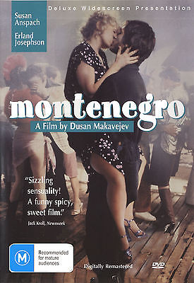 Dvd Montenegro  1981  Susan Anspach  Erland Josephson  Per Oscarson
