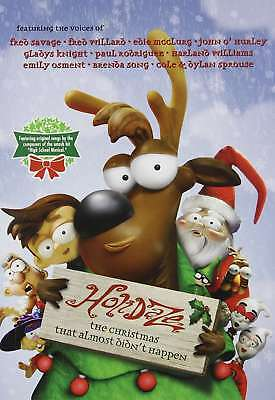 Holidaze  The Christmas That Almost Didnt Happen  New Dvd  Fred Savage  Fred Wi