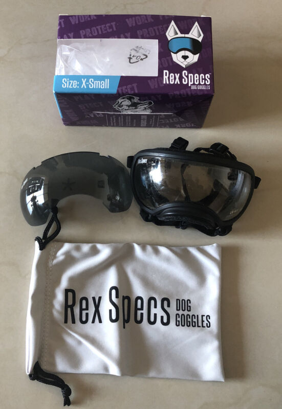 Mint Condition Size X Small Rex Specs Dog Goggles