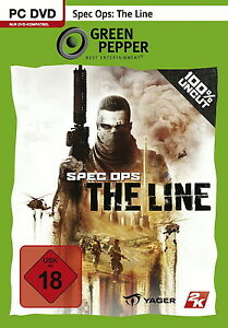 Spec Ops: The Line (PC, 2014, DVD-Box) - Dillendorf, Deutschland - Spec Ops: The Line (PC, 2014, DVD-Box) - Dillendorf, Deutschland