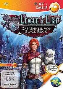 **LEAGUE OF LIGHT * DAS UNHEIL VON BLACK ROCK * WIMMELBILD-SPIEL PC CD-Rom - Krefeld, Deutschland - **LEAGUE OF LIGHT * DAS UNHEIL VON BLACK ROCK * WIMMELBILD-SPIEL PC CD-Rom - Krefeld, Deutschland