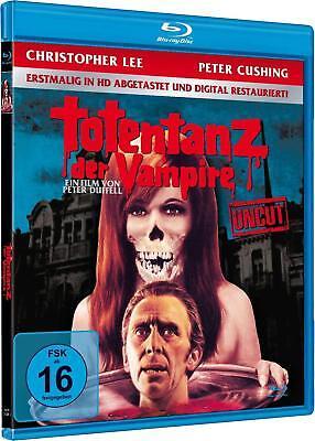 TOTENTANZ DER VAMPIRE Uncut CHRISTOPHER LEE Peter Cushing REMASTERED Blu-Ray Neu