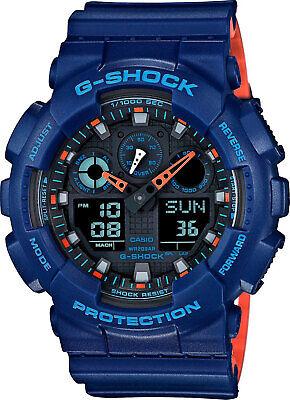 Casio G-Shock GA-100L-2A Blue Resin Men's Watch