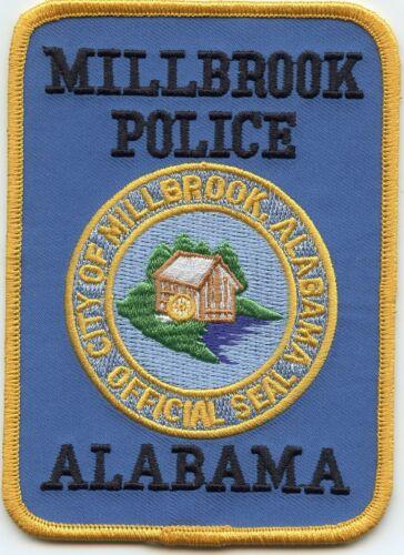 MILLBROOK ALABAMA AL POLICE PATCH