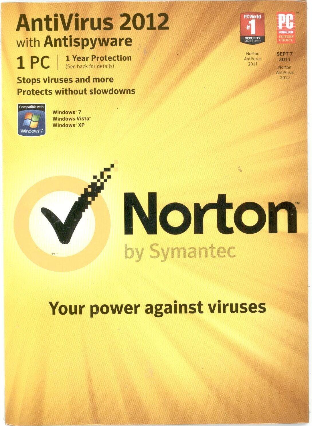 Антивирусная программа 1 /1 Symantec