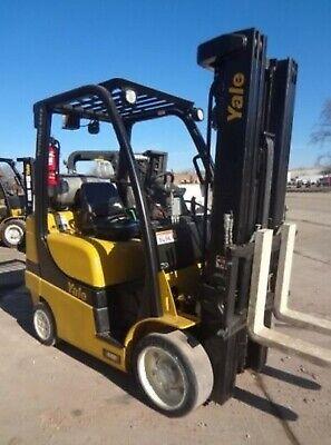 Yale Forklift 2016 Lpg Less Than 700h