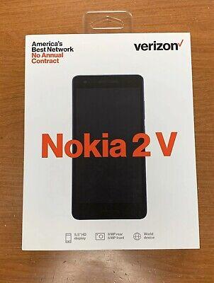 NEW Verizon Wireless Nokia 2V 8GB Prepaid Smartphone READY TO SHIP SAME DAY!