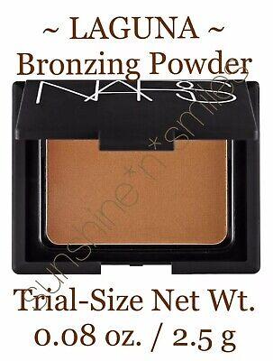 NARS Bronzing Powder NIB Mini Compact Bronzer 0.08oz LAGUNA Brown Golden Shimmer