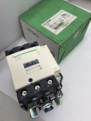 Schneider Electric LC1 D50B7 Contactor 50A 460VAC 40HP 24VAC Coil (NEW)