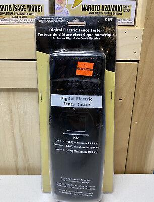 Zareba Deft-z Digital Electric Fence Tester Black New