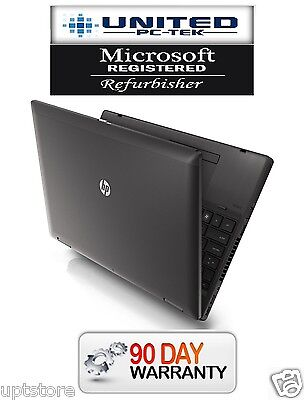 """Fast HP ProBook 6560b 15.6"""" (Windows 7 Pro 320GB Intel Core i5 4GB DVD/RW, WiFi)"""