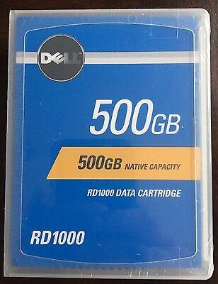 Dell 0TJKJC - 500GB RD1000 / RDX Data Cartridge - New/Factory Sealed