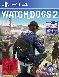 Watch Dogs 2 Neuwertig ps4 playstation 4 - <span itemprop='availableAtOrFrom'>Dortmund, Deutschland</span> - Watch Dogs 2 Neuwertig ps4 playstation 4 - Dortmund, Deutschland