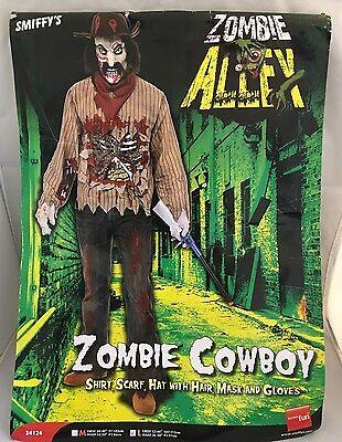 Zombie Cowboy costume - mens large - Smiffys - Zombie Cowboy Kostüme