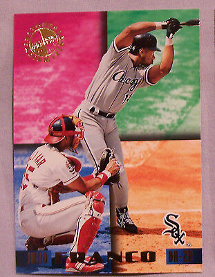 1995 Stadium Club Members Only Julio Franco Chicago White Sox  CD001