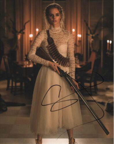 Samara Weaving Ready or Not Autographed Signed 8x10 Photo COA 2019-2