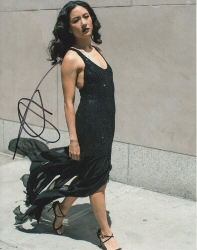 Constance Wu Hustlers Autographed Signed 8x10 Photo COA 2019-1