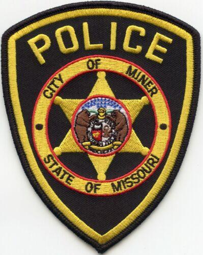 MINER MISSOURI MO POLICE PATCH