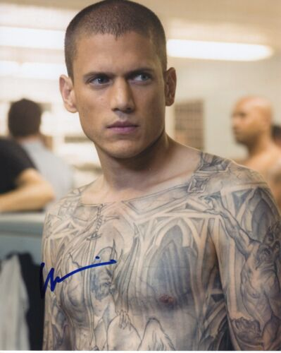 Wentworth Miller Prison Break Autographed Signed 8x10 Photo COA 2019-3