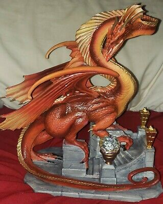Lord Of The Rings - Franklin Mint SMAUG THE GOLDEN Dragon