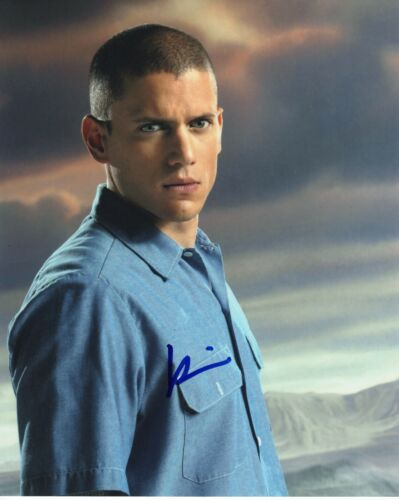 Wentworth Miller Prison Break Autographed Signed 8x10 Photo COA 2019-1