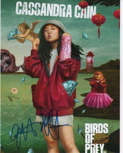 Ella Jay Basco Harley Quinn Autographed Signed 8x10 Photo COA 2020-1