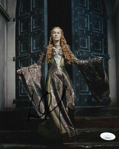 Lena Headey Game of Thrones Autographed Signed 8x10 Photo JSA COA EF709
