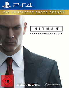 PlayStation 4 Spiel Hitman (Steelbook Edition) (Sony PlayStation 4, 2017,) - Herne, Deutschland - PlayStation 4 Spiel Hitman (Steelbook Edition) (Sony PlayStation 4, 2017,) - Herne, Deutschland