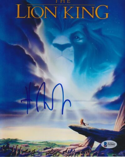 HANS ZIMMER SIGNED 8X10 PHOTO THE LION KING BECKETT BAS AUTOGRAPH AUTO COA H