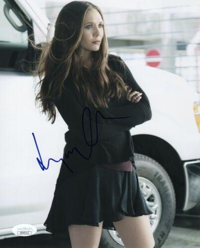 Elizabeth Olsen Avengers Autographed Signed 8x10 Photo JSA COA #1