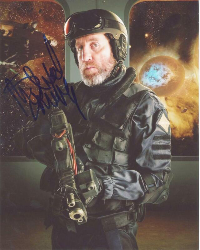 "Michael Smiley ""Doctor Who"" AUTOGRAPH Signed 8x10 Photo ACOA"