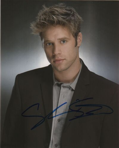 Shaun Sipos Krypton Autographed Signed 8x10 Photo COA AB61