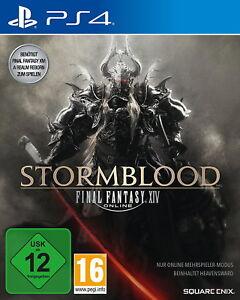 Final Fantasy XIV Online: Stormblood (Sony PlayStation 4, 2017)