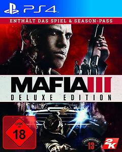 Mafia III - Deluxe Edition - PlayStation 4 - NEU & OVP - Spiel Season Pass PS4 - München, Deutschland - Mafia III - Deluxe Edition - PlayStation 4 - NEU & OVP - Spiel Season Pass PS4 - München, Deutschland