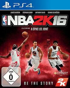 NBA-2K16-2016-fuer-Playstation-4-PS4-Basketball-NEUWARE-DEUTSCHE-VERSION