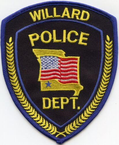 WILLARD MISSOURI MO POLICE PATCH