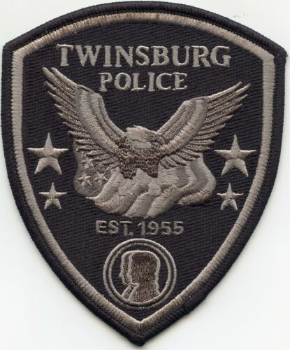 TWINSBURG OHIO OH POLICE PATCH