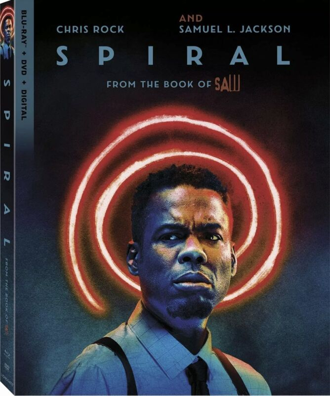 SPIRAL FROM THE BOOK OF SAW(BLU-RAY+DVD+DIGITAL)W/SLIPCOVER NEW