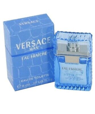 Versace Eau Fraiche Mini Cologne for Men 0.17 oz / 5ml EDT