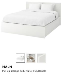 Full size Malm Bed from Ikea - pickup only