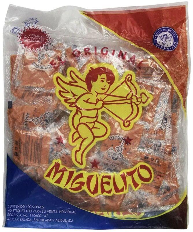 Miguelito El Original Chamoy Candy Powder Mexican Candy Dulce En Polvo Miguelito