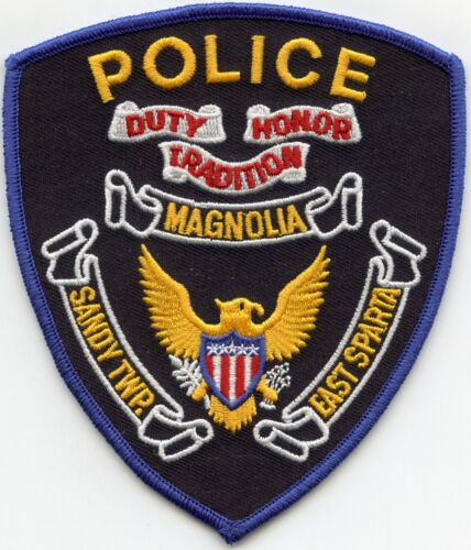 MAGNOLIA - SANDY TOWNSHIP - EAST SPARTA OHIO OH POLICE PATCH