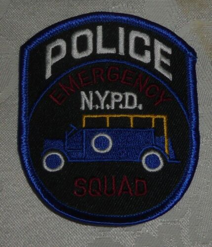 NYPD Emergency Squad Patch