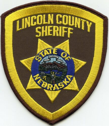LINCOLN COUNTY NEBRASKA NE SHERIFF POLICE PATCH